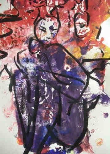 Dorothea Tlatlik, Cats, Abstraktes