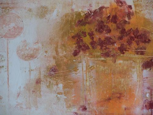 Dorothea Tlatlik, Charme der Provence, Abstraktes, Pflanzen: Blumen, Expressionismus