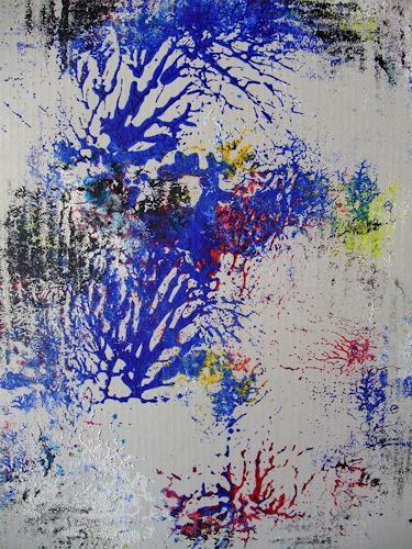 Dorothea Tlatlik, manchmal...., Abstraktes, Natur: Wald