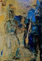 Rolf-Becker-2-Menschen-Moderne-Abstrakte-Kunst