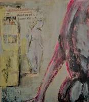Rolf-Becker-2-Menschen-Frau-Moderne-Expressionismus-Abstrakter-Expressionismus