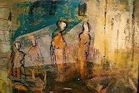 Rolf-Becker-2-Menschen-Moderne-Expressionismus-Abstrakter-Expressionismus