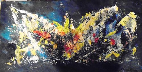 Rudolf Olgiati, Krist - all, Fantasie, Abstraktes, Abstrakte Kunst