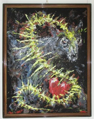 Rudolf Olgiati, Heart & Spine, Abstraktes, Mythologie, Abstrakte Kunst