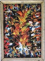 Rudolf-Olgiati-Abstraktes-Fantasie-Moderne-Abstrakte-Kunst-Action-Painting