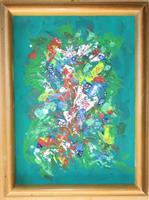 Rudolf-Olgiati-Natur-Pflanzen-Blumen-Moderne-Abstrakte-Kunst