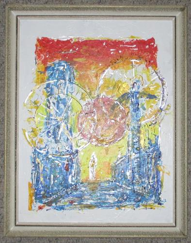 Rudolf Olgiati, Chronopanoptikum, Menschen, Mythologie, Abstrakte Kunst