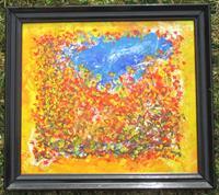Rudolf-Olgiati-Natur-Landschaft-Herbst-Moderne-Abstrakte-Kunst