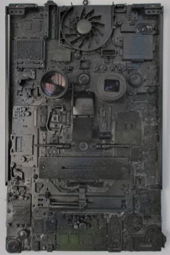 Rudolf Olgiati, Mechaniac, Abstraktes, Fantasie, Abstrakte Kunst