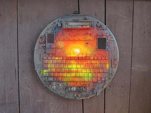 Rudolf Olgiati, digital sundown, Landschaft: See/Meer, Fantasie, Abstrakte Kunst, Abstrakter Expressionismus