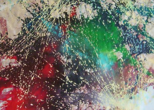 Gita Khezri, O/T, Abstraktes