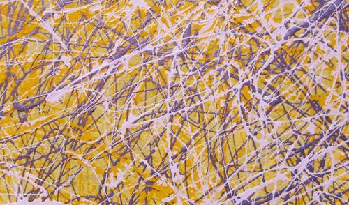 Gita Khezri, O/T, Abstraktes, Aktionskunst