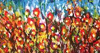 Gita-Khezri-Pflanzen-Blumen-Moderne-Aktionskunst
