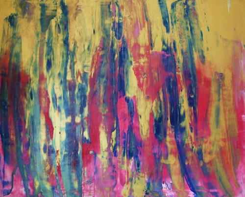 Gita Khezri, O/T, Abstraktes, Informel