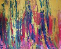 Gita-Khezri-Abstraktes-Moderne-Abstrakte-Kunst-Informel