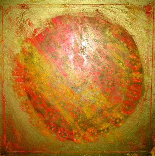 Gita Khezri, O/T, Abstraktes, Abstrakte Kunst