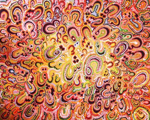 Gita Khezri, Liebe, Abstraktes, Pointilismus