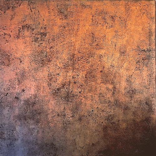 Barbara Pissot, Copper, Abstraktes, Gegenwartskunst, Expressionismus