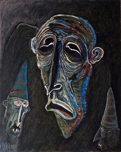 zanzib, King Carabas and his trained Pinocchi50, Fantasie, Gefühle: Depression, Postsurrealismus