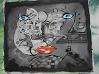 TraumraumAK-Diverse-Gefuehle-Gefuehle-Depression-Gegenwartskunst-Postsurrealismus