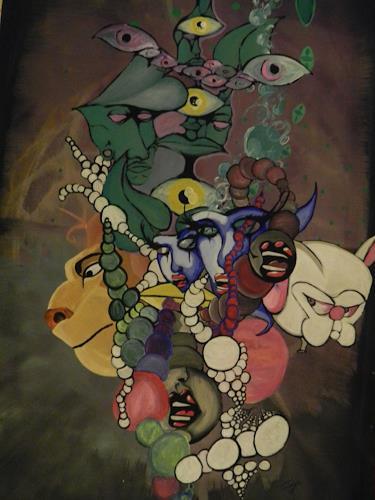 TraumraumAK, Emanzipation des Geistes, Abstraktes, Glauben, Symbolismus